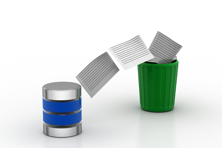 Deleting files from folder to recycle bin