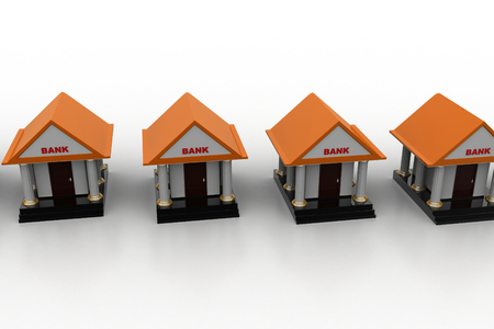 3d models of bank