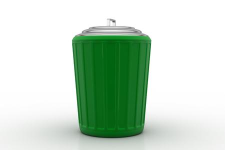 dumping: Trash box