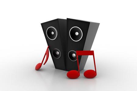 Audio speaker subwoofer system with speaker