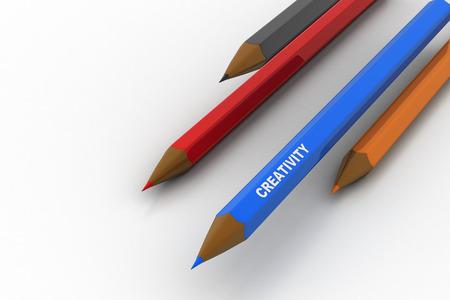 Different colours pencil