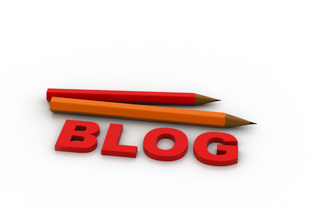 Blog schrijven concept