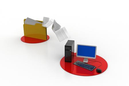 File transferring concept