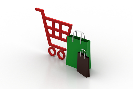 marmalade: supermarket full shopping trolley cart