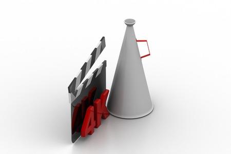 Video, movie, cinema concept Stock Photo