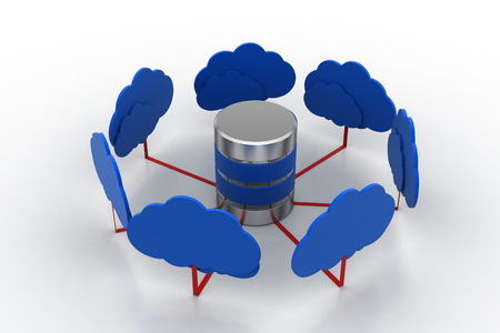 Cloud with work station