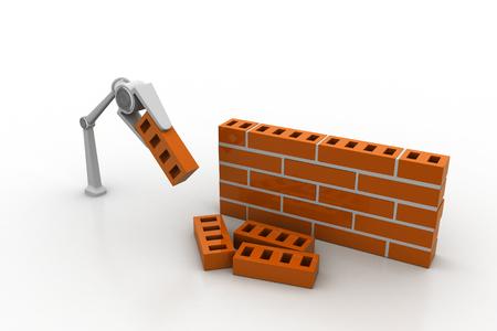 Machine hand under construction