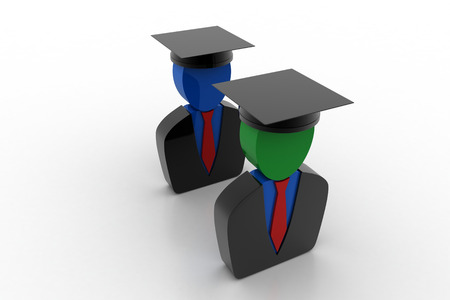 egresado: Higher education concept
