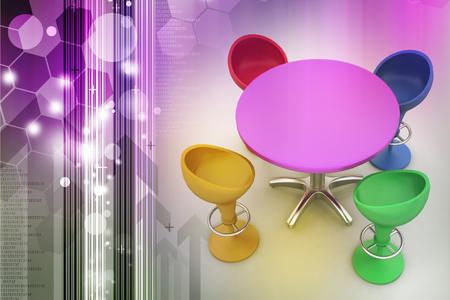 Modern bar table