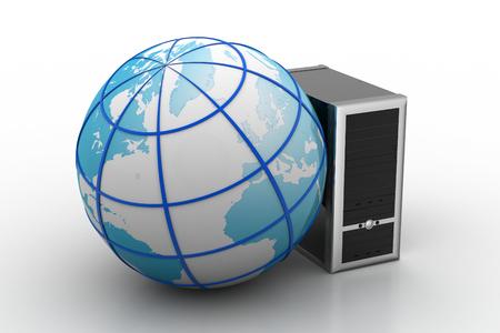 telecommunication service internet concept
