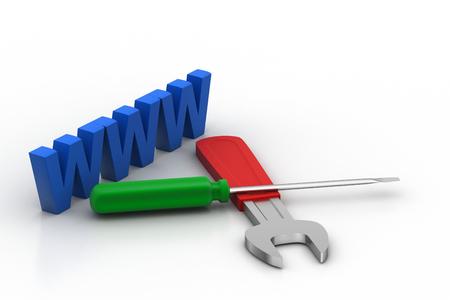 Internet service concept