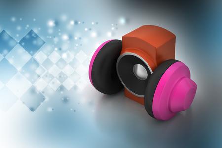 loudspeaker and headset