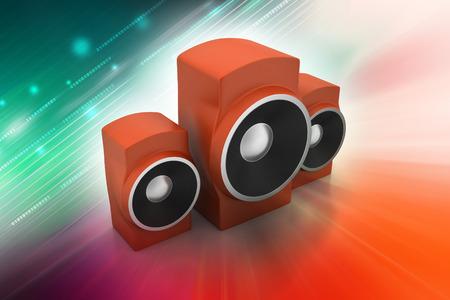 Music speaker Banque d'images