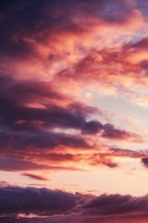 orange and black clouds during time nature awesome nice new beautifully photo