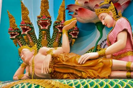 handscraft: literature figure of thai
