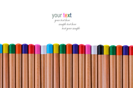 buttom: buttom multi color pencil