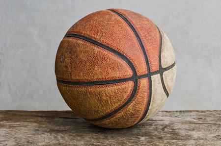 terrain de basket: Old basket Banque d'images