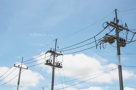 electricity pole: electricity pole, electricity pylons technology background