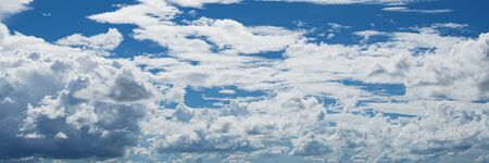 white cloud with blue sky background Stok Fotoğraf