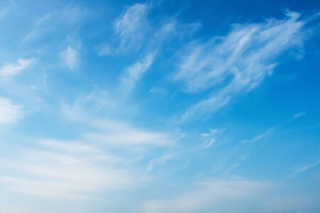 beauty blue sky with white clouds background Imagens - 132068902
