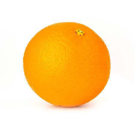orange fruit isolate on white background
