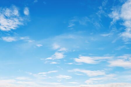 white cloud with blue sky nature landscape background