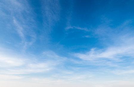 beautiful blue sky with cloudy Standard-Bild
