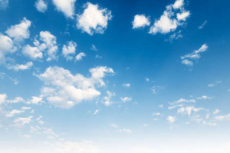 white cloud with blue sky background Standard-Bild