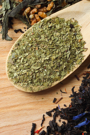 yerba mate: Mate cocido en seco