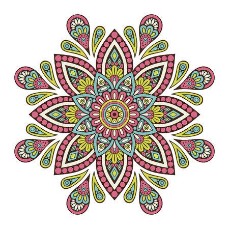 repetition: Flower Mandala. Vintage decorative elements. Oriental pattern, vector illustration. Islam, Arabic, Indian, moroccan,spain, turkish, pakistan, chinese, mystic, ottoman motifs. Coloring book page.