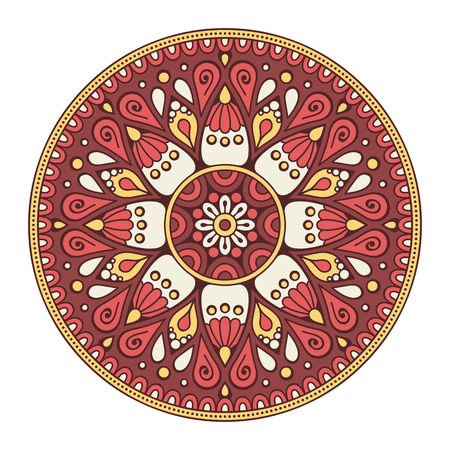 repetition: Flower Mandala. Vintage decorative elements. Oriental pattern, vector illustration. Islam, Arabic, Indian, moroccan,spain, turkish, pakistan, chinese, mystic, ottoman motifs. Coloring book page
