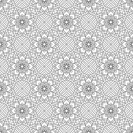 Vector mandala seamless pattern 向量圖像