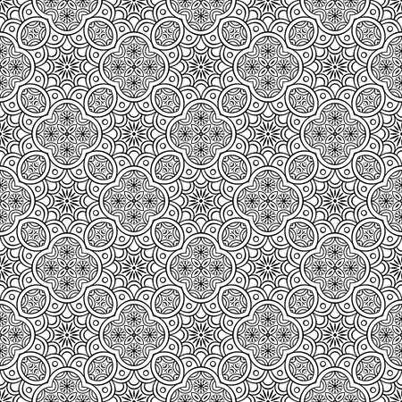 Vector seamless pattern illustration. 向量圖像