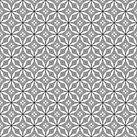 Vector mandala seamless pattern Illustration