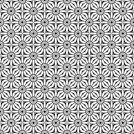 Vector mandala seamless pattern Reklamní fotografie - 101536718
