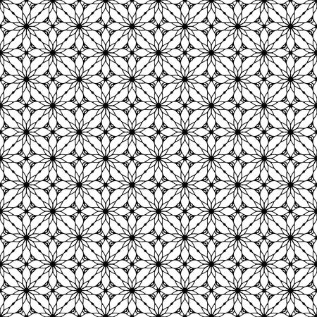Vector mandala seamless pattern Ilustrace