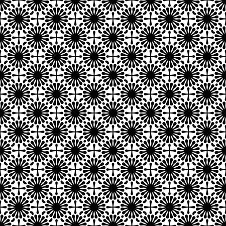 Vector mandala seamless pattern Reklamní fotografie - 101501793