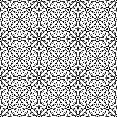 Vector mandala seamless pattern Illustration