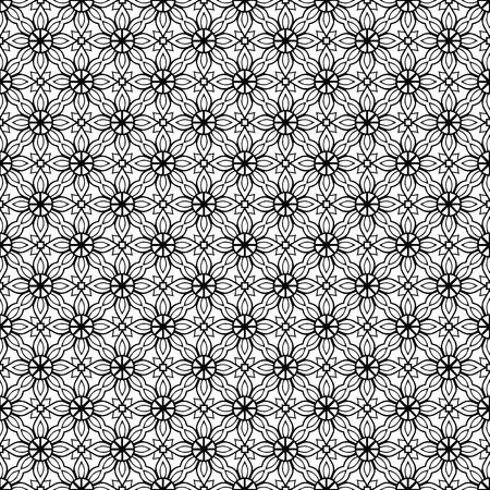 Vector mandala seamless pattern Reklamní fotografie - 101501854