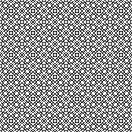 Vector mandala seamless pattern Reklamní fotografie