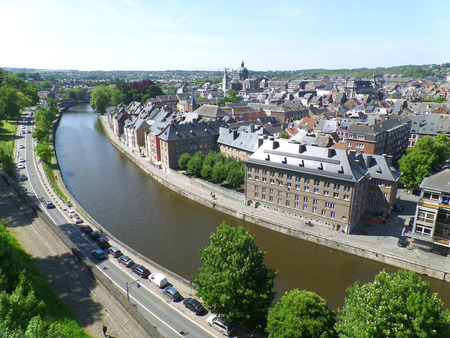 mediaval: A stunning view seen from Citadel of Namur, Belgium