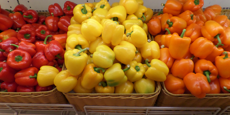bellpepper: Red Yellow and Orange color Bellpepper
