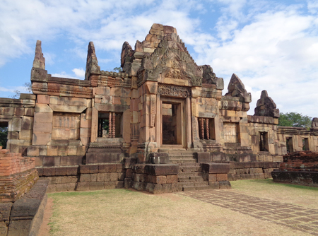 buriram: Stunning Ancient Khmer Temple of Prasat Hin Muang Tam Shrine Complex, Buriram, Thailand
