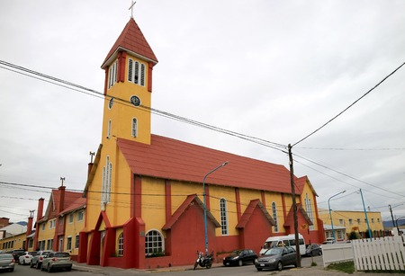 Church of Our Lady of Mercy, the Southernmost Catholic Church on the planet, Ushuaia, Patagonia, Argentina
