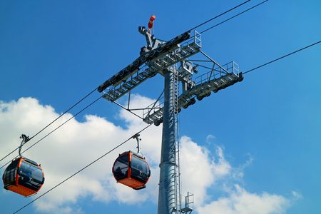 Mi Teleferico or My Cable Car, the highest cable car system in the world, La Paz, Bolivia