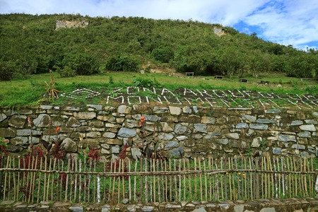 Kuelap Archaeological Site, the Ancient Mountaintop Citadel in Amazonas Region, Northern Peru, South America