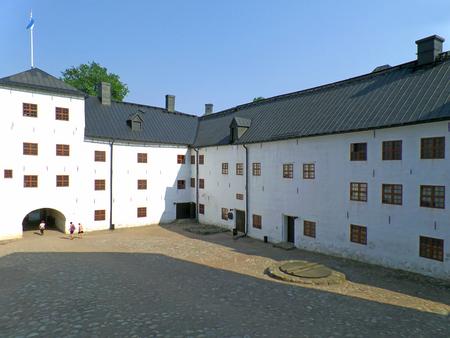 Turku castle or Turun linna in Turku city, Historic place in Finland, Scandinavia