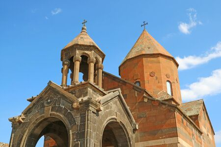 The Church of Holy Mother of God or Surb Astvatzatzin in Khor Virap Monastery, Ararat Province of Armenia