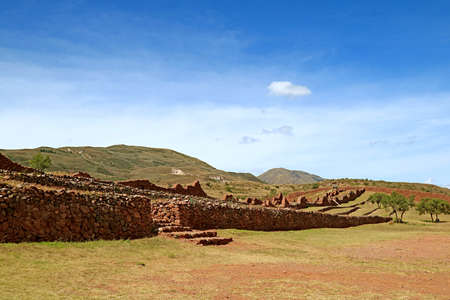 The Archaeological Site of Piquillacta, an Amazing Pre-Inca Ancient Ruins in the South Valley of Cusco Region, Peru