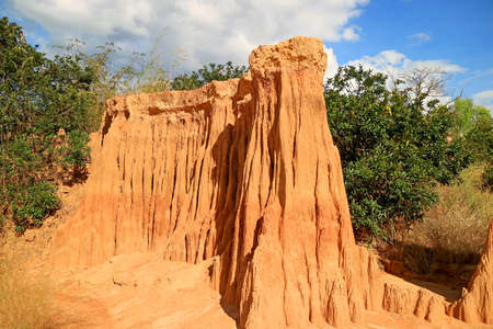 Lalu or Thailand's Canyon, Incredible Natural Phenomenon in Ta Phraya National Park, Sa Kaeo, Thailand